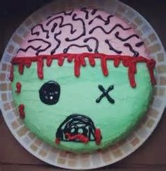 zombie cupcake Zombie cupcakes Cake and Birthdays