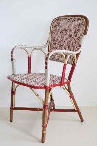 329,00 rotanfauteuil,mooie rieten stoelen voor in de tuin, mooie terrasstoelen van riet, rieten stoelen, handgemaakt, franse rotanstoel, rotanstoelen uit parijs, handmade, gekleurde rotanstoelen, geweven met rilsan, biologische polyamide, handmade, custommade, terrasstoelen, terrasmeubilair van rotan, stoelen voor brasserie en cafe van rotan, rotanstoel met leuningen