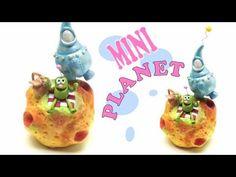 Mini Planet- Polymer clay tutorial- Fimo - YouTube