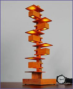 Frank Lloyd Wright Mini Taliesin Lll Lamp - New