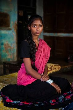 A Tamil girl.