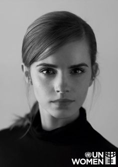 Emma Watson - a Goodwill Ambassador for UN Women, the United Nations organization dedicated to gender equality and the empowerment of women. (Who is the photographer? Drop me a line if you know, thanks! - Mod) http://www.unwomen.org/en/news/stories/2014/7/un-women-announces-emma-watson-as-goodwill-ambassador