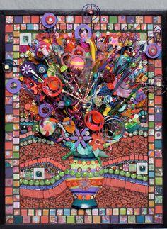 Fiesta Bouquet from Major Mosaics