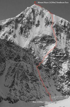 Samuel Johnson solos east face of Mount Hayes in Alaska | ROCK and ICE Magazine