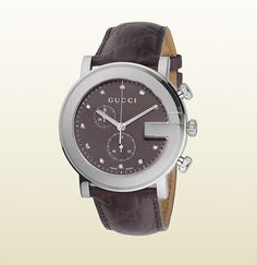 Gucci G Chrono Collection Gucci Watch, Stainless Steel Watch, Girls Best Friend, Chronograph, Luxury Fashion, Watches, My Style, Accessories, Collection