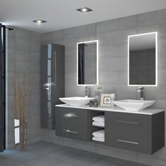 Sonix 1500 Glass Top Wall hung Vanity storage Unit inc basins and taps curved Wall Hung Contemporary Bathroom Bathroom Vanity Units, Wall Hung Vanity, Double Sink Bathroom, Bathroom Layout, Modern Bathroom Design, Bathroom Interior Design, Bathroom Furniture, Bathroom Sinks, Bathroom Wall