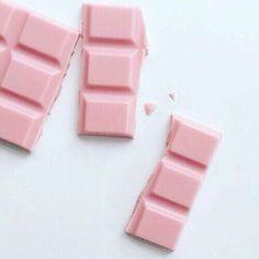 Imagem de pink, chocolate, and food
