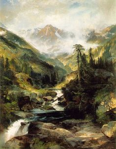 Another one of my all time fav painters. Thomas Moran - Mountain of the Holy Cross
