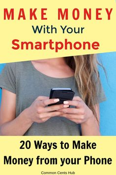 How to make money with your phone. How to make money from your smartphone. 20 methods you can make money with your phone. Some are free mobile apps, but they're all proven ways to make money online. You can make money as a teenager with your phone, or make great part-time income with your smartphone. Make Money Fast, Make Money From Home, Earn Money Online Fast, Stay At Home Mom, Online Earning, Make Money Blogging, Extra Cash, Extra Money, Personal Finance Articles