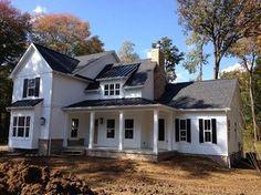 Westbury plan, also more here: http://www.houzz.com/photos/6687881/Modern-Farmhouse-farmhouse-exterior-cleveland