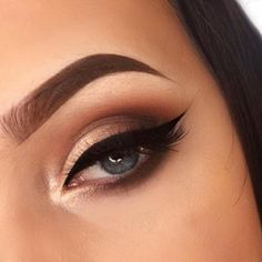 Bold Brows and Inner Highlight