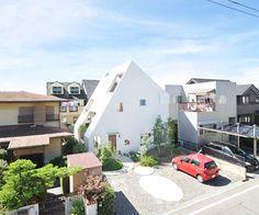 A mountain of a house, Japan