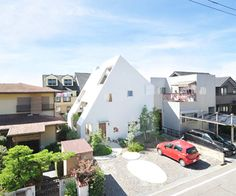 A mountain of a house, Japan