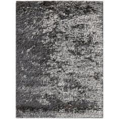 AMER Rugs Elements Neon Dark Gray Area Rug