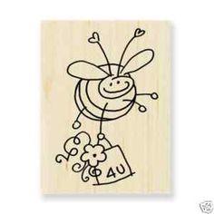 Stampendous Bee