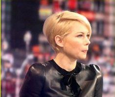 Nuovo taglio di capelli Michelle Williams 2013 visto di profilo