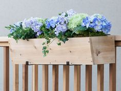 Sleek, slender, and simple in design, these wood window box planters are the easiest way to enjoy gardening in limited space. They mount directly to your windowsill using our unique cleat mounting mechanism, allowing you to install them yourself as soon as you get them home. Just fill with your favorite potting soil, add seeds or seedlings, and you're on your way to a beautiful growing season.Our basic planter box enhances your home without taking attention away from your flower arrangeme...