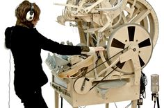 Marble Machine music instrument with 2000 marbles
