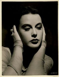 Austrian-born Hedy Lamarr (1913–2000), an American actress and a mathematician, was among the leading screen sirens of Hollywood in the 1940s. Description from pinterest.com. I searched for this on bing.com/images
