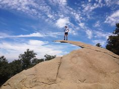 *m. 10 GREAT SOUTHERN CALIFORNIA HIKES: 1. Potato Chip Rock on Mt. Woodson