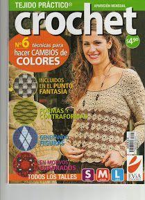 Técnicas de Crochet Cambio de Colores 2008 Evia - Alejandra Tejedora - Picasa Web Albums