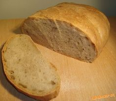 Jednoduchý biely chlieb + užitočné rady,ako piecť chlieb :-) Bread And Pastries, Dessert Recipes, Desserts, Pizza, Food And Drink, Menu, Snacks, Baking, Hampers