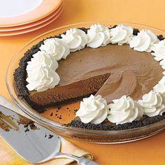 Dessert Recipes: Chocolate Silk Pie