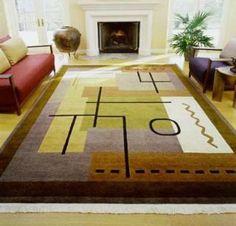 alfombras rusticas para living - Buscar con Google