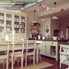 My kitchen - from Clara at The Corner House New Kitchen, Kitchen Decor, Kitchen Design, Family Kitchen, Kitchen Ideas, Kitchen Dresser, Kitchen Units, Kitchen Styling, Vintage Kitchen