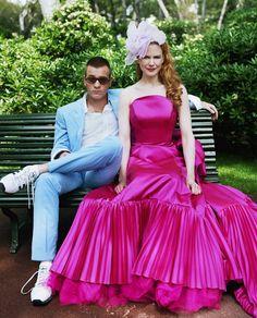 Ewan McGregor and Nicole Kidman by Lorenzo Agius