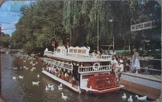 Truly vintage Dorney Park! Who remembers this boat ride ???