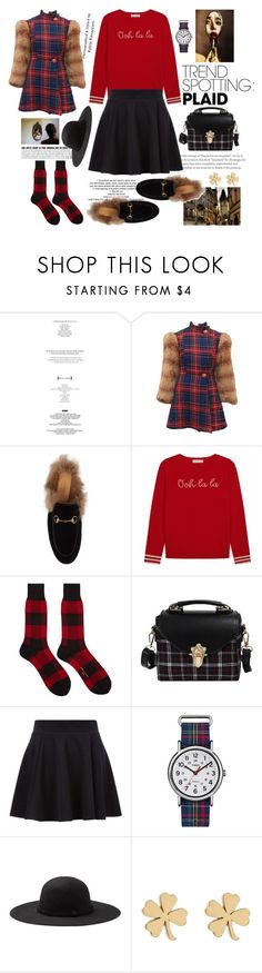"""Do not touch my heart if you can not love her"" by nicolleeliza ❤ liked on Polyvore featuring StyleNanda, Betsey Johnson, Gucci, Comme des Garçons Homme, Timex and Jennifer Meyer Jewelry"