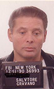 """a real mug shot, Sammy """"the Bull"""" Gravano. Karen Dad."""