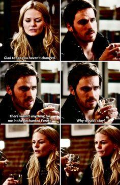 Emma And Hook. Feels... #OnceUponATime