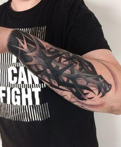 Tattoo artist Marcin Aleksander Surowiec authors style color and black and grey tattoo, contemporary tattoo art | Poland | #inkpplcom #inkppl #inkedpeople #inked #ink #inktattoo #abstracttattoo #blackworktattoo #tattooedgirl #tattooedmen #linework #bodyart #tatts #tats #blackwork #blackworktattoo #colortattoo #neotraditional #blackworkart #dotworktattoo #newstyletattoo #tattoostyle #authorstattoo #experimentalart #modernart #lineworktattoo #abstract #contemporaryart />