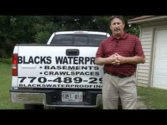 Basement Waterproofing Atlanta  Foundation Waterproofing | Blacks Waterproofing #atlanta_wet_basement #Basement_Waterproofing