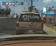 Camioneta Esplore