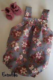 Ranita de bebe (tutoriales y patrones) Sewing Patterns For Kids, Sewing For Kids, Baby Sewing, Little Girl Dresses, Girls Dresses, Summer Dresses, Diy Vestidos, Diy Romper, Sweet Dreams Baby