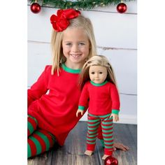 Pre-order Doll Christmas Pajamas - pinned by pin4etsy.com Christmas Pajamas 6b29a0b6f