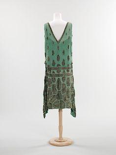 Beaded Evening Dress, 1925 via The Met