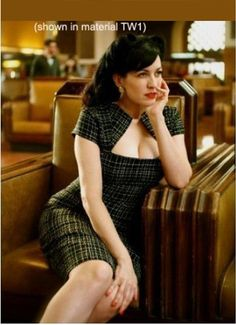 $86 As she surveyed the club, her eyes caught a glimpse of her future rich ex-husband. #FemmeFatale http://www.etsy.com/listing/61591179/erin-pencil-dress-custom-made-wiggle-all