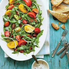 BLT Salad! It's ripe with fresh summer flavors!