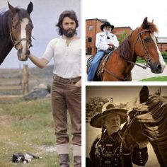Get to know some famous and should be famous men of music and horses in this week's 100% Sound here: http://www.counter-canterculture.com/?p=3996