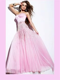 Pink/Blue Tulle 2013 Prom Dress APR230030