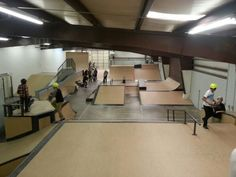 Crossroads indoor skatepark in Ogden Utah!