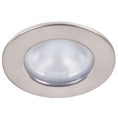 Hafele Recessed/Surface Mount Halogen Light in Chrome with Frosted Lens (under cabinet, kitchen). #kitchensource #followerfind #pinterest