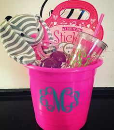 Happy Valentine's Week! This week we'll be bringing you all of our favorite gift ideas for your sweetheart! Gals guys and your little ones! How fun is this goodie basket we put together? Everything a girl could want complete with a monogramed tumbler and Lokai bracelets! #tfssi #stsimonsisland #seaisland #valentines #giftideas #favoritethings