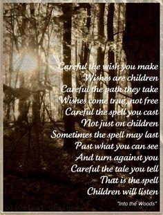 Children will Listen-Into the Woods