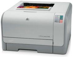 Imprimanta laser HP Color Laserjet CP1215 CC376A la doar 495 Lei.