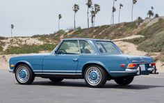 Here's What A Perfectly-Preserved 'Pagoda'-Roof Mercedes-Benz Looks Like • Petrolicious